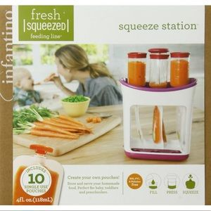Fresh Squeezed Station | 2 spoons | 33 Pouches